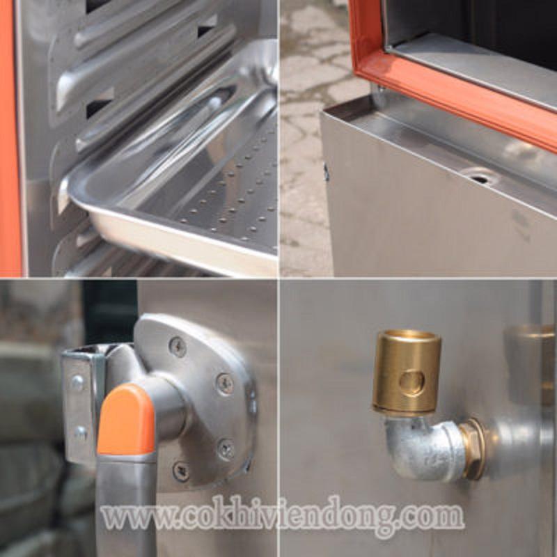 chi tiết tủ cơm công nghiệp