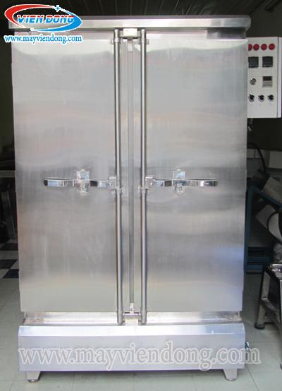 tủ nấu cơm công nghiệp điện Gas 20 khay