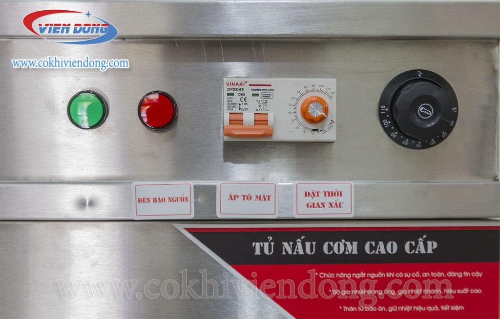giá tủ nấu cơm bằng điện Gas