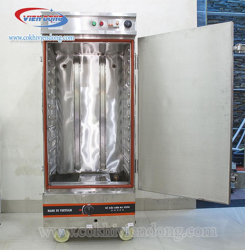 Tủ nấu cơm dùng điện và Gas chung