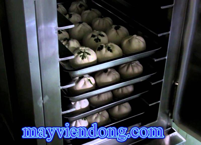 tủ hấp bánh bao