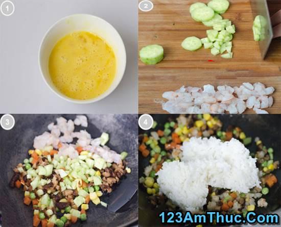 Cách làm cơm cuộn trứng đầy hấp dẫn