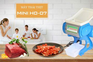 Có nên mua máy thái thịt mini HO-07?