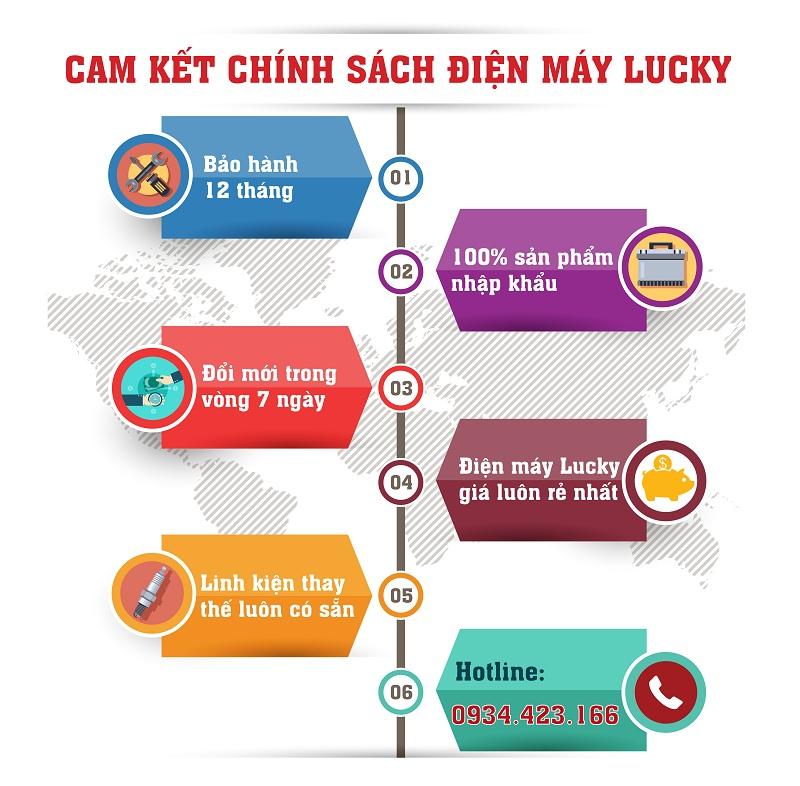Chính sách điện máy Lucky