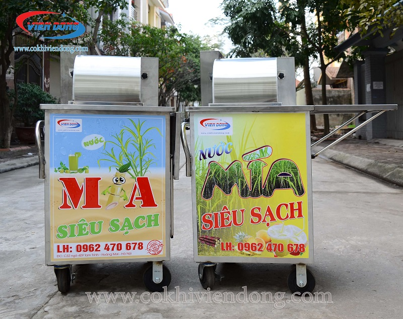 Bán xe nước mía siêu sạch chính hãng Viễn Đông