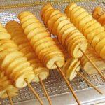Hướng dẫn làm khoai tây lốc xoáy bằng máy chiên khoai tây lốc xoáy