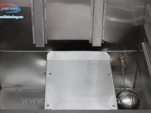 Tủ hấp công nghiệp bằng gas 24 khay Việt Nam