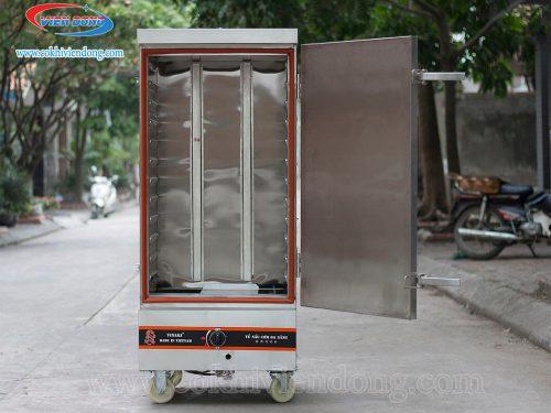 Tủ nấu cơm Việt Nam 12 khay bằng gas