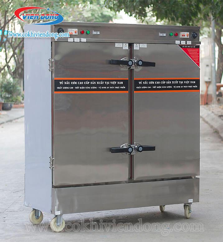 Tủ nấu cơm điện Việt Nam 20 khayTủ nấu cơm điện Việt Nam 20 khay