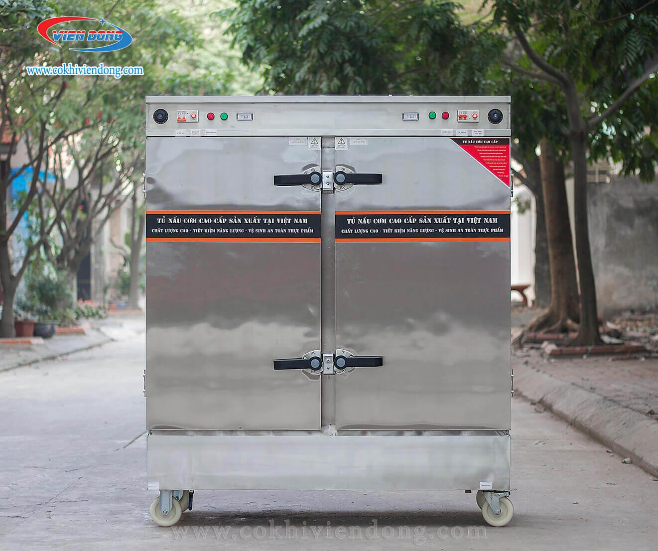 Tủ nấu cơm điện Việt Nam 20 khay