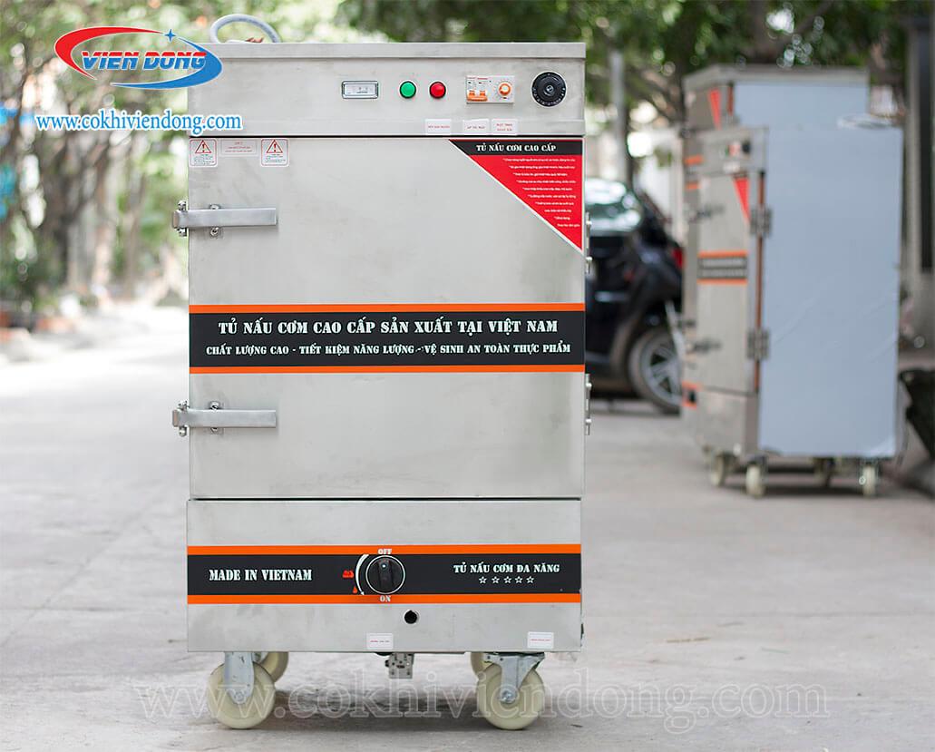 Tủ nấu cơm gas Việt Nam 10 khay