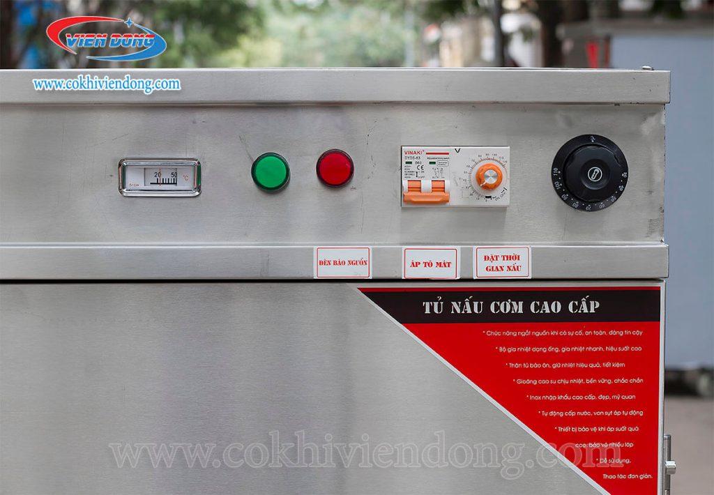 Sử dụng tủ cơm công nghiệp