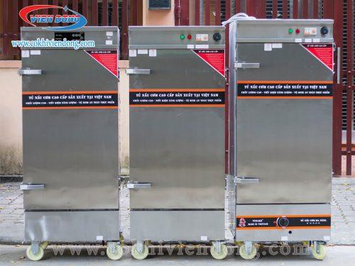 Tủ nấu cơm gas Việt Nam 6 khay
