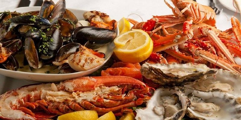 Hấp thịt, giò chả, hải sản