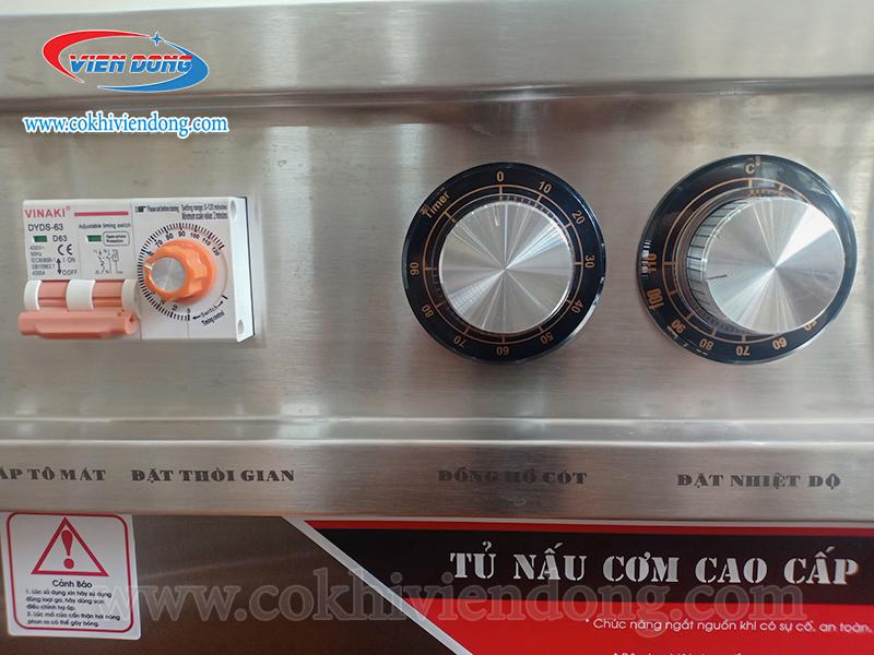 tủ nấu có bộ khiển bằng cơ