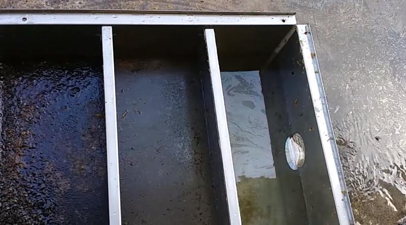 thùng lọc mỡ inox