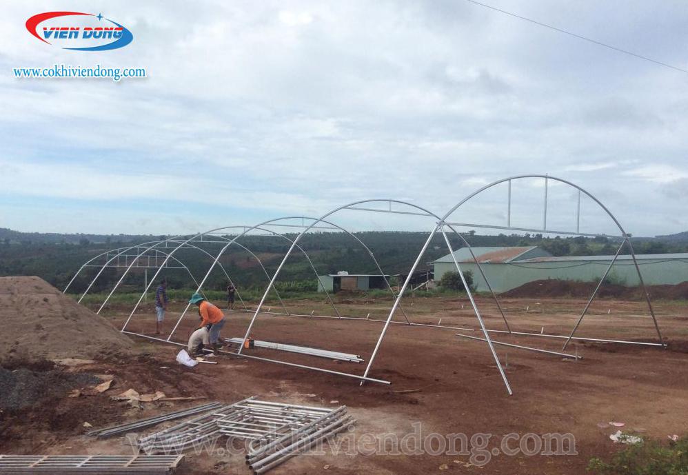 Lắp đặt nhà sấy nông sản năng lượng mặt trời