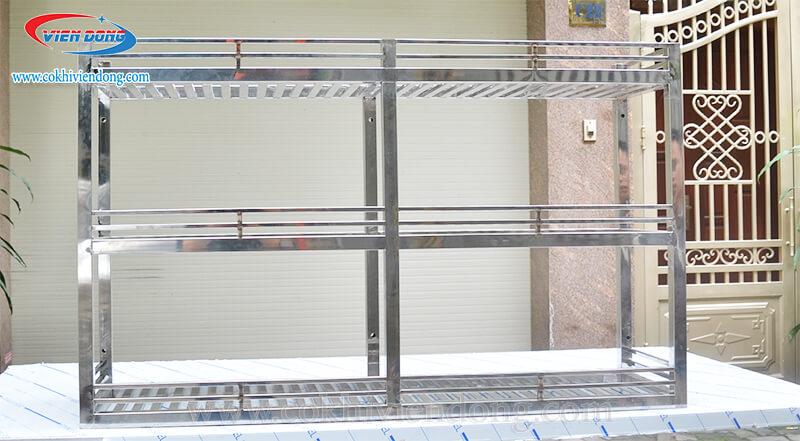 kệ bếp INOX treo tường