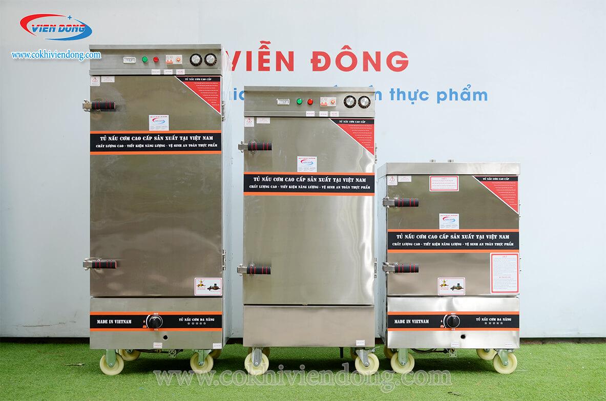 Tủ cơm công nghiệp Viễn Đông uy tín, đảm bảo chất lượng