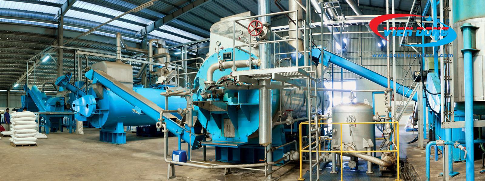 dây chuyền sản xuất dầu cá