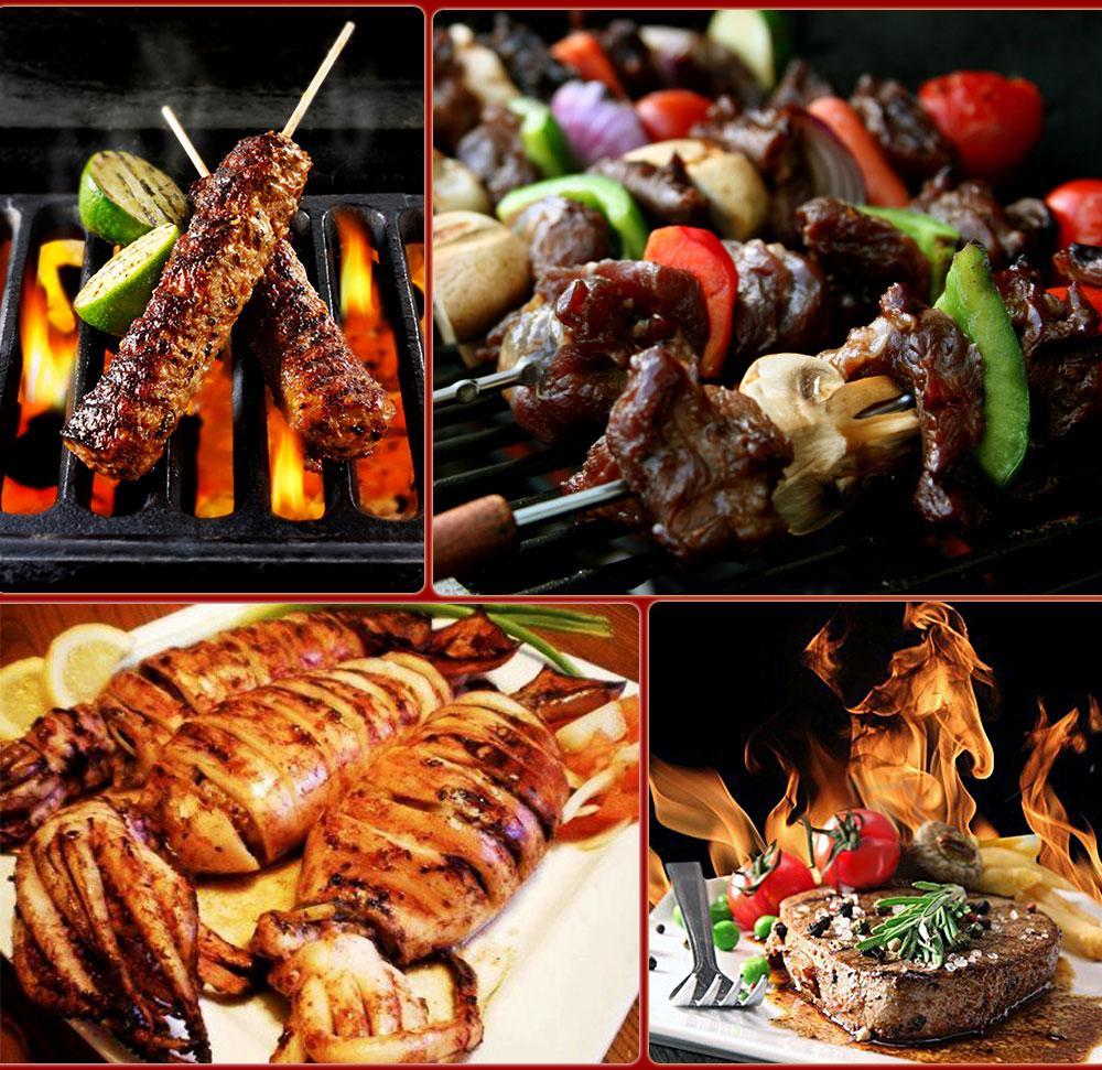 Nướng đa dạng các loại thực phẩm với lò nướng Salamander