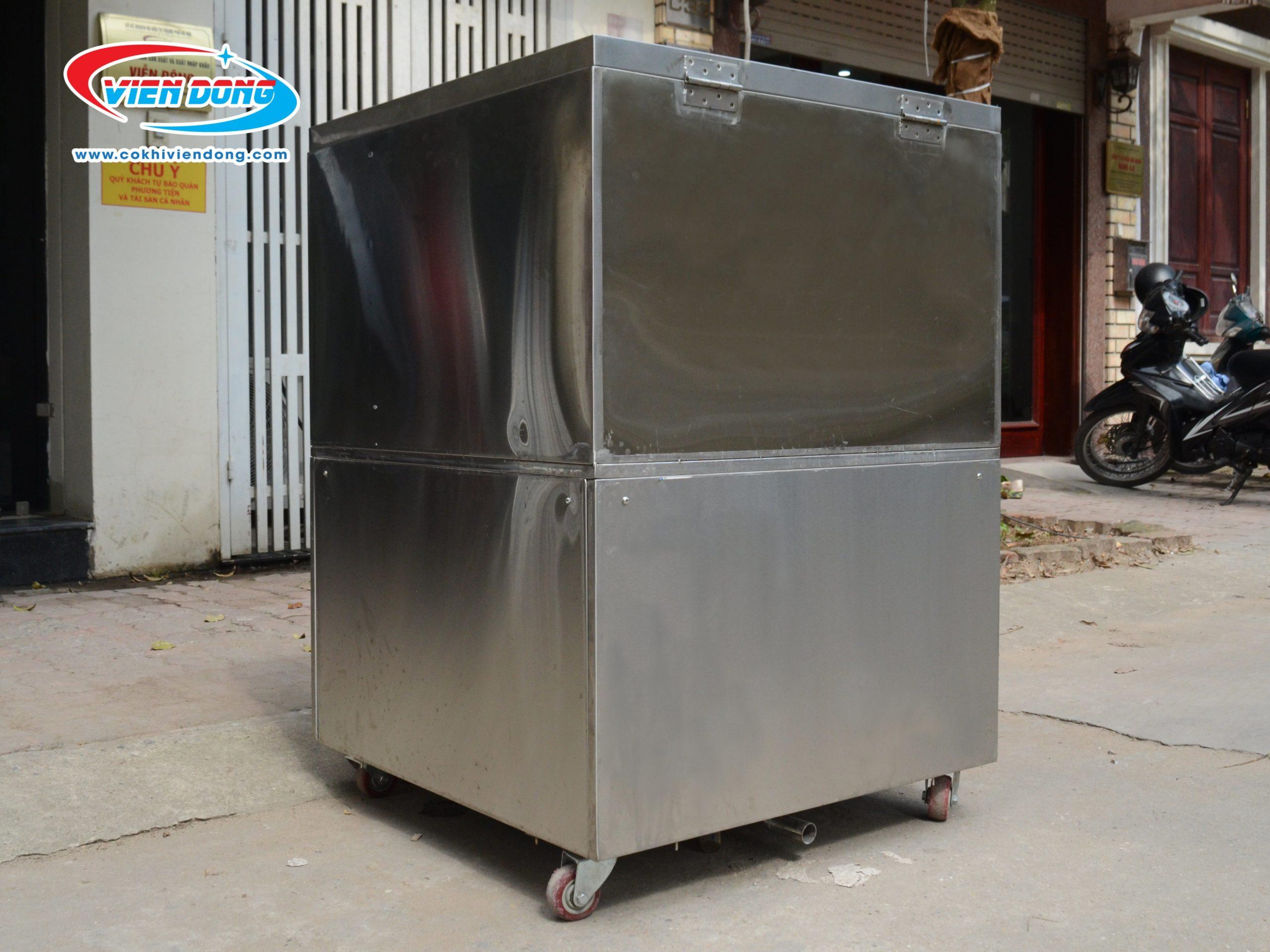 Máy được làm từ inox 304 toàn bộ