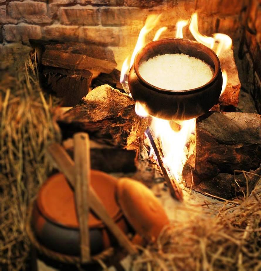 cách nấu cơm niêu