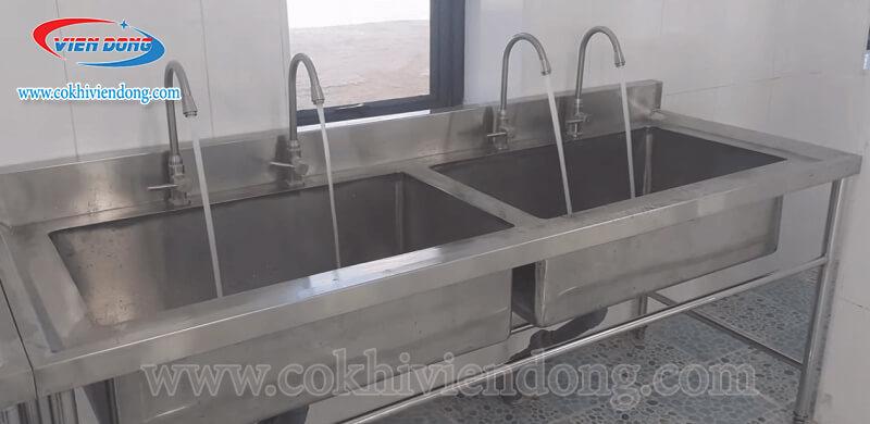 bồn rửa inox công nghiệp