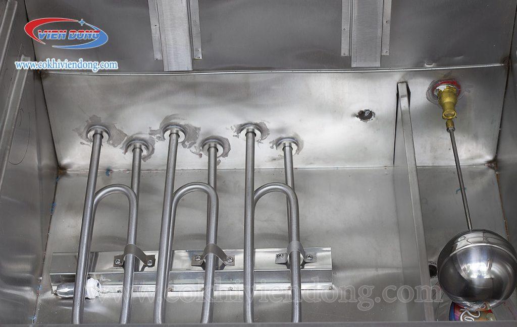 Nên chọn tủ nấu cơm chất liệu inox