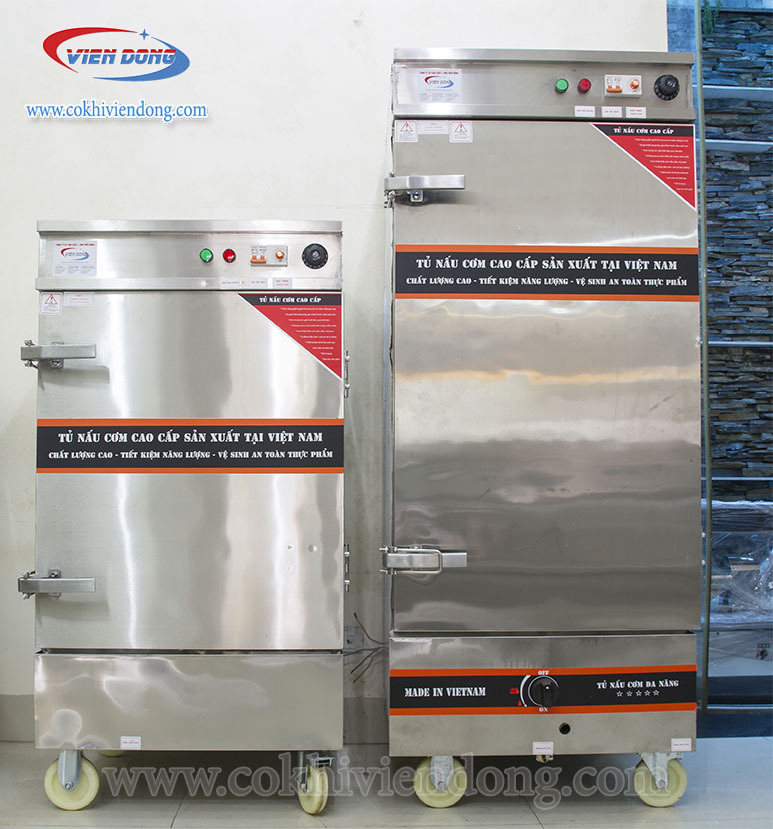 tủ nấu cơm công nghiệp 2021