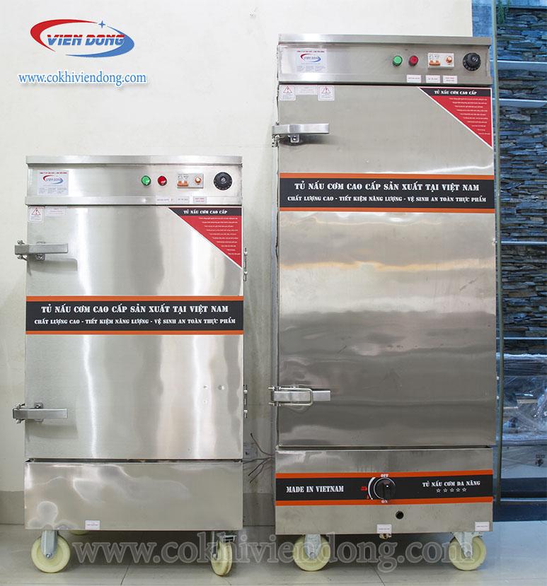 Tủ nấu cơm công nghiệp bằng gas Viễn Đông