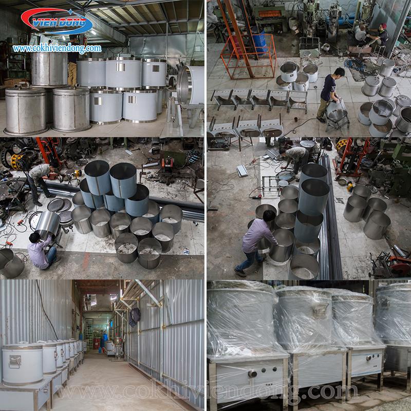 Xưởng sản xuất nồi nấu phở tiết kiệm điện Viễn Đông