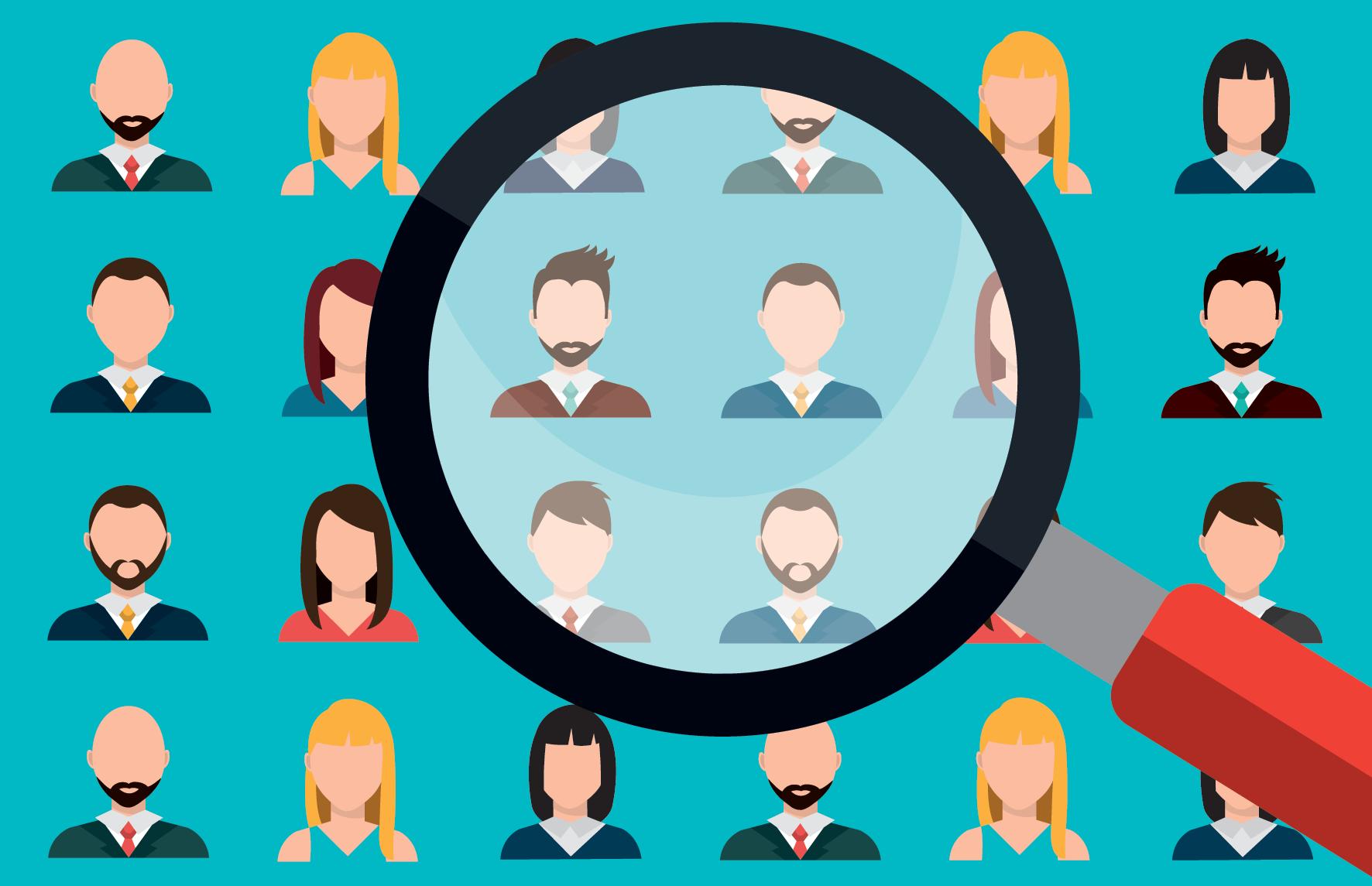 chọn nhóm khách hàng mục tiêu