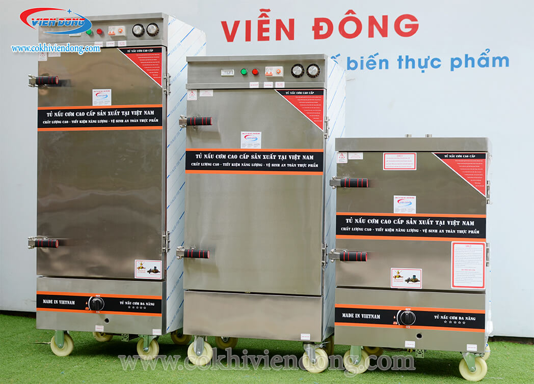 tủ hấp công nghiệp Viễn Đông