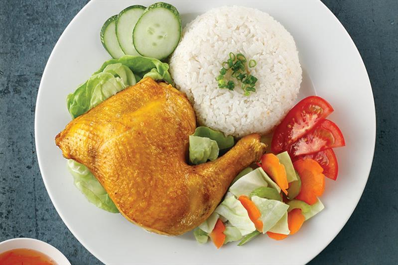 công thức nấu cơm gà ngon