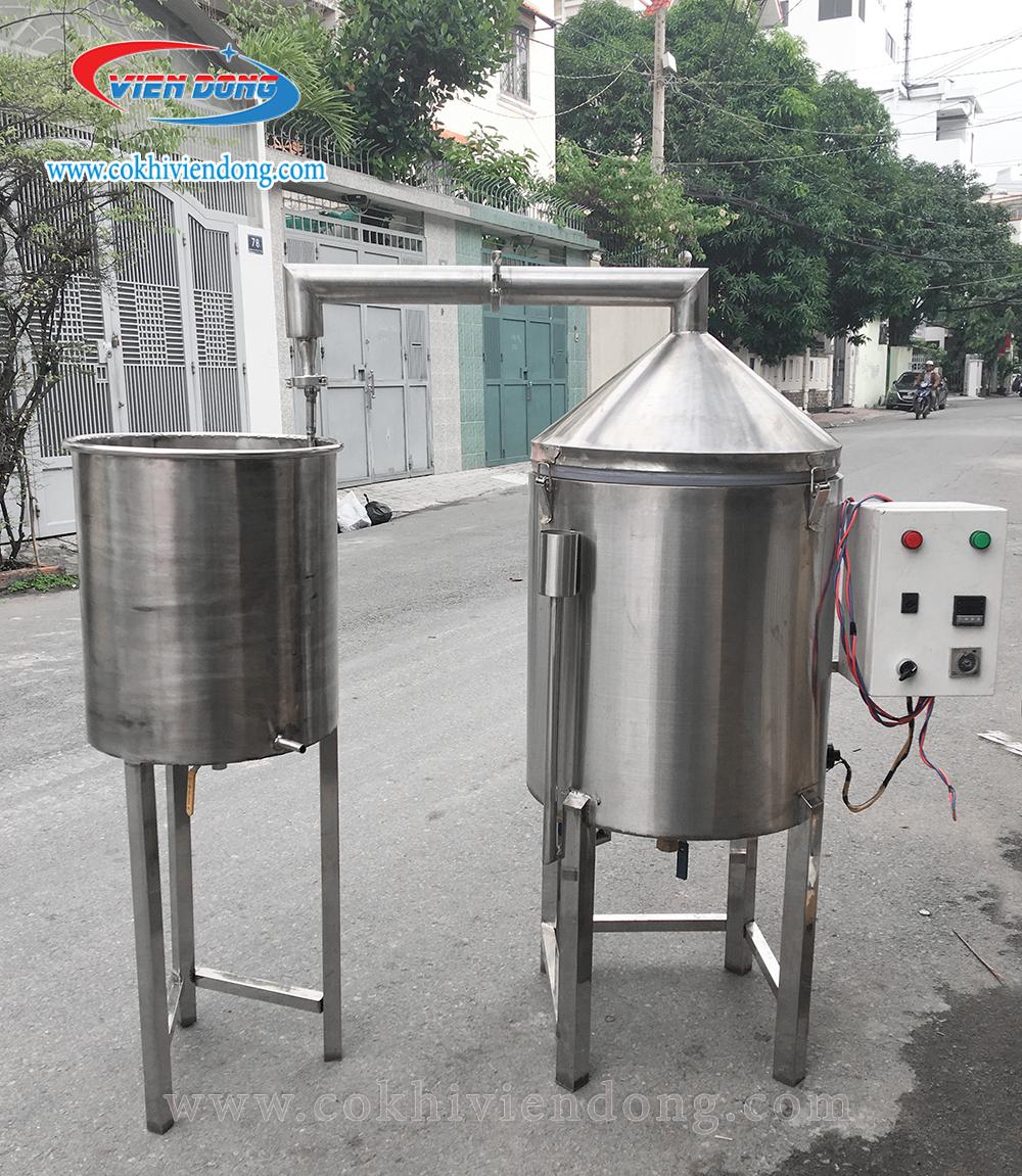 máy nấu rượu 20kg