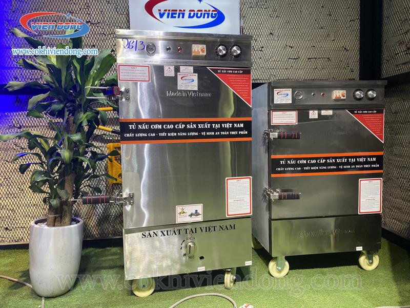 Tủ nấu cơm điện Việt Nam 12 khay (36Kg/mẻ)