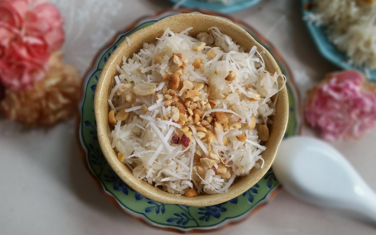 Cách nấu cơm nếp bằng bếp ga tại nhà làm 3 loại xôi ngon dẻo
